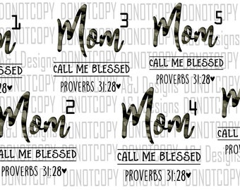 Blessed Clipart Etsy