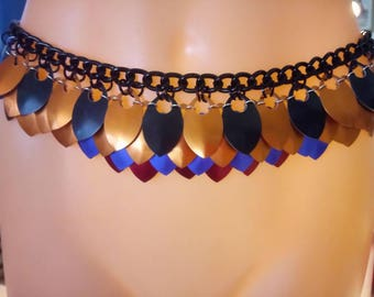 Scale Maille Belly Dancing Belt