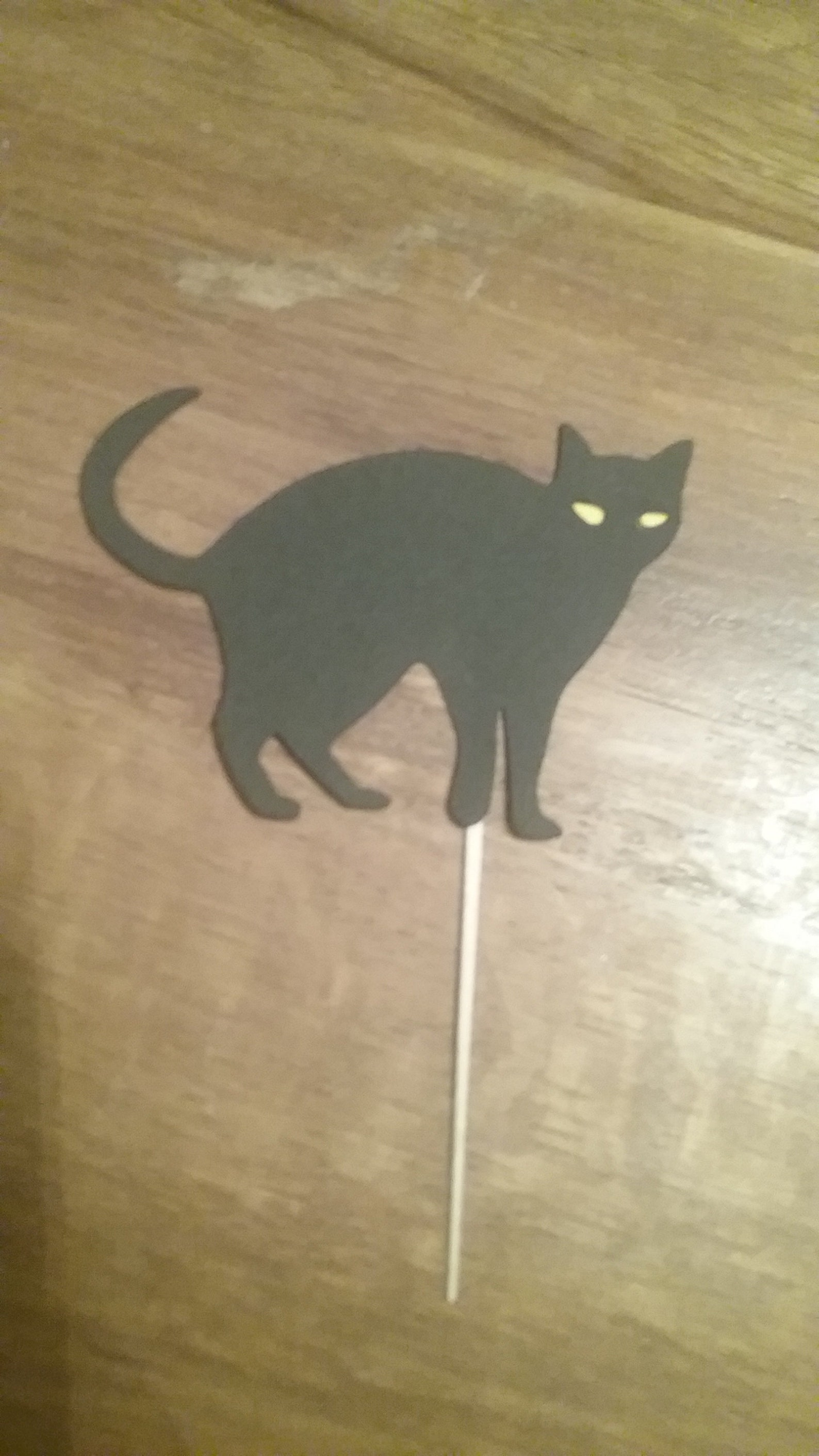 Halloween Cat Cupcake Picks Page Three