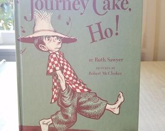 Vintage pour enfants histoire «Gâteau de voyage Ho» 1953 Ruth Sawyer