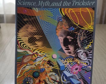 """Vintage Book """"Synchronicity"""" Science, Myth and the Trickster Combs and Holland"""
