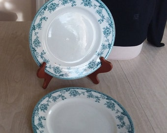 "Vintage ""Medina"" Plates -- Two Dinner Plates"