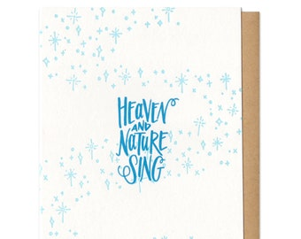 Heaven and Nature Sing Greeting Card Boxed Set of 6