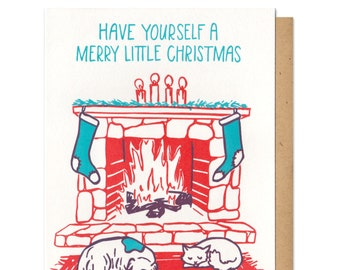 Have Yourself A Merry Little Christmas Card Boxed Set of 6