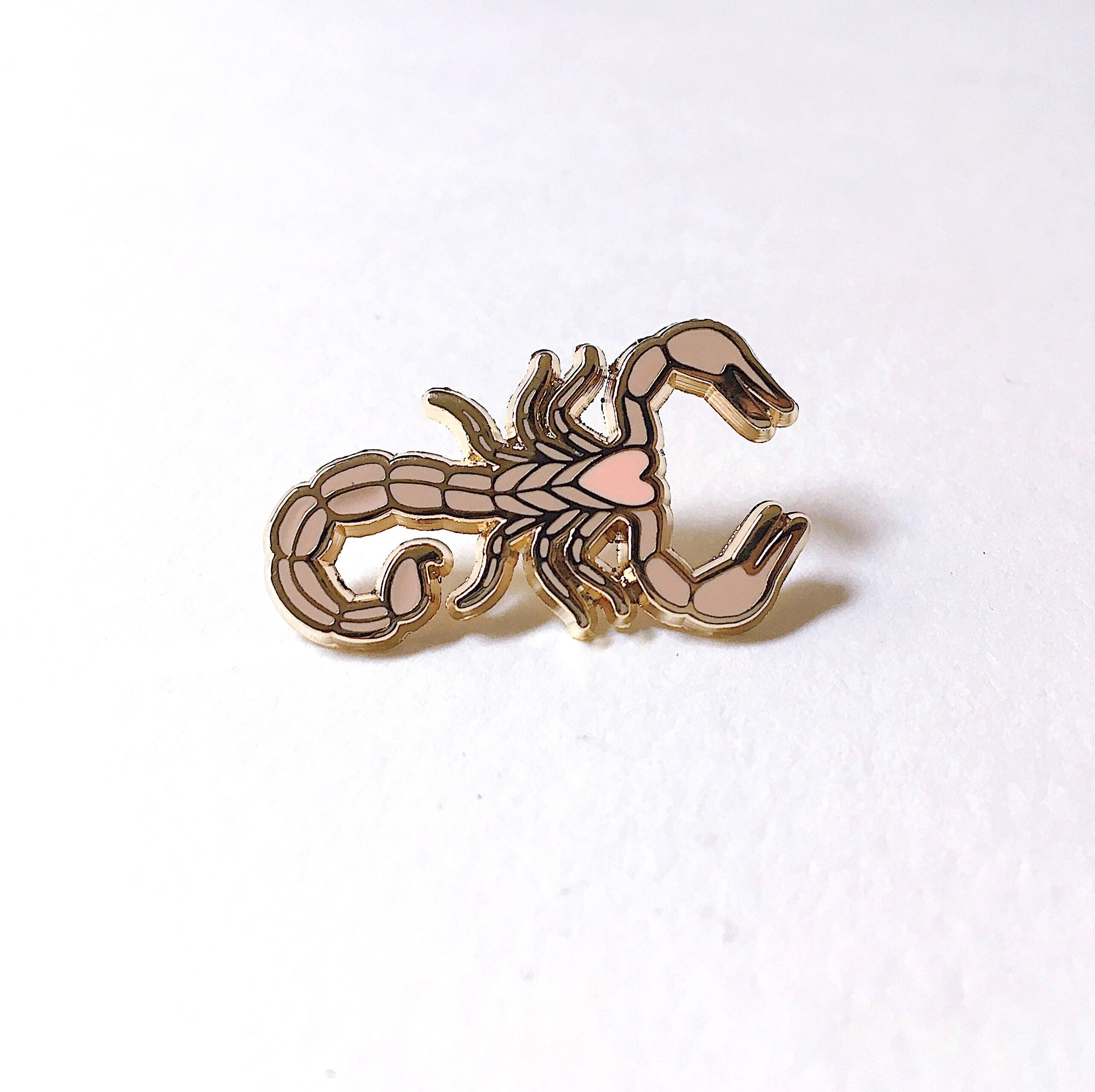 Scorpion Lapel Pin