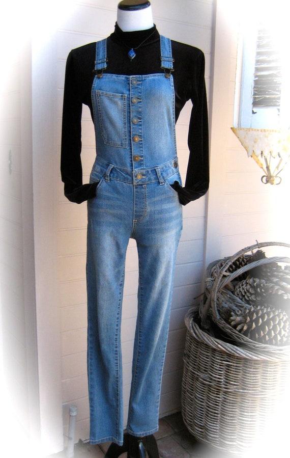 cercare data di rilascio: vendita calda autentica Vintage CANYON RIVER BLUES Denim Jumpsuit Bib Dungarees   Etsy