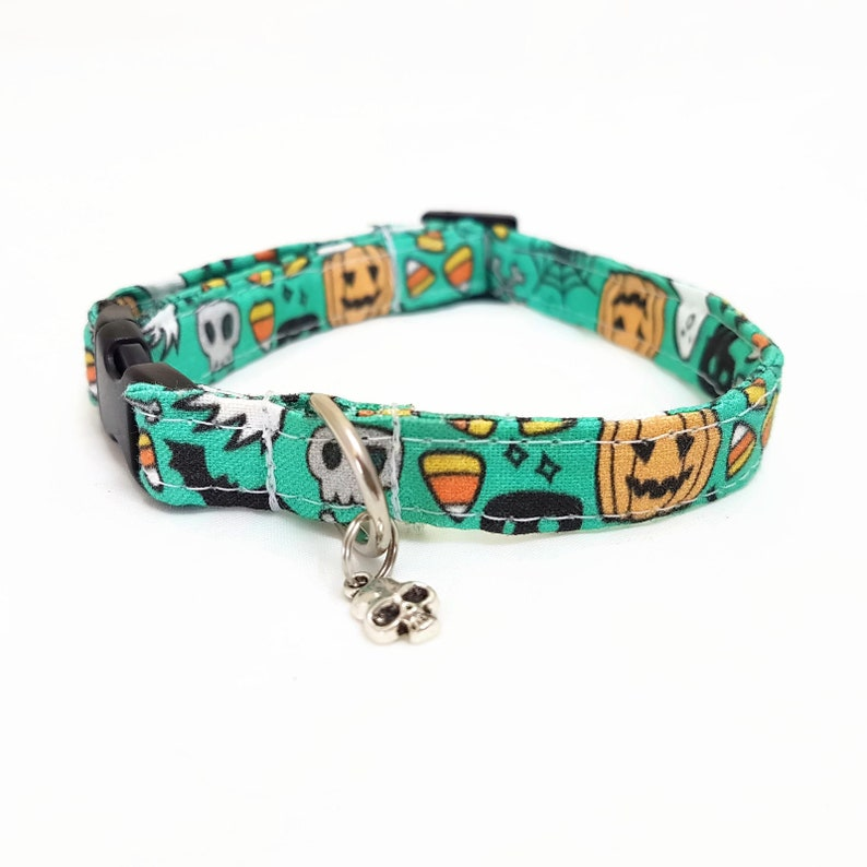 Cat Collar Breakaway  Halloween  Boo  Safety image 0