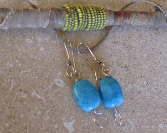 Turquoise & Sliver  Earrings