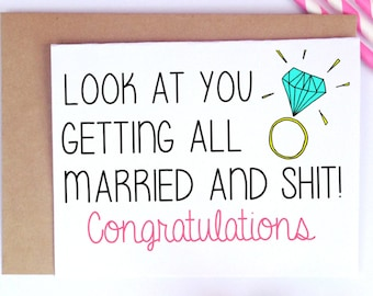 Wedding Card Etsy