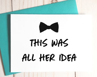 Funny Groomsman Card, Funny Best Man Card, Groomsman Proposal, Best Man Proposal, Bridal Party Cards