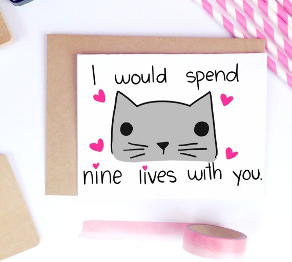 Funny Valentine Card Cute Valentine Card Card For Husband Etsy