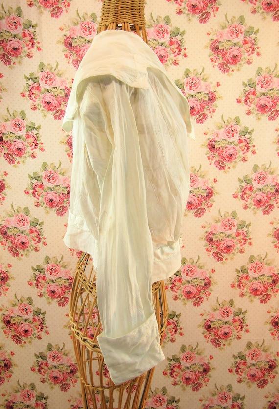 Antique Edwardian Blouse Shirtwaist Size Medium A… - image 7