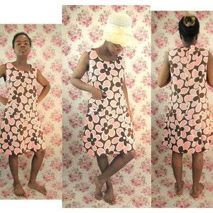 Vintage 1960s Playsuit Size M Vintage SunSuit Vintage 1960s Romper One Piece Skirted Tennis Dress Swimdress by Gabar