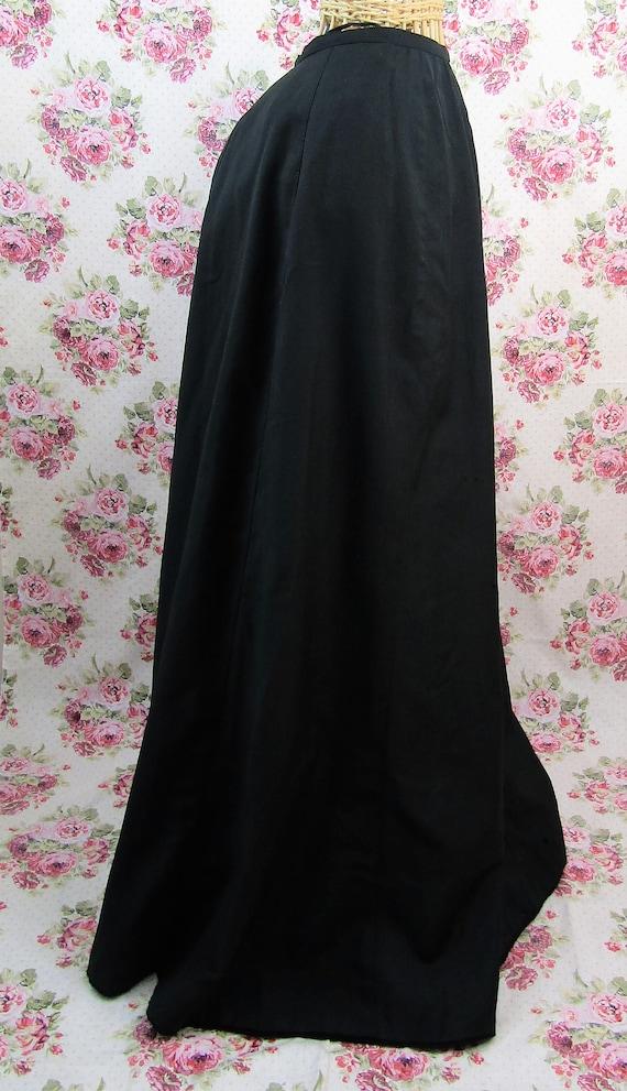 Antique Edwardian Full Length Skirt Size XS Long … - image 2