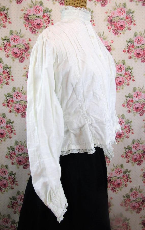 Victorian Blouse Size XS 1800s Victorian Shirtwai… - image 3