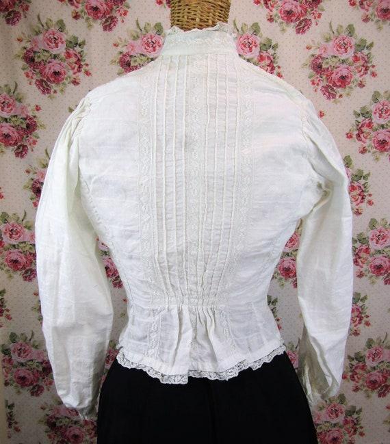 Victorian Blouse Size XS 1800s Victorian Shirtwai… - image 5