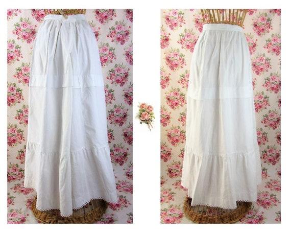 Victorian Petticoat Size Medium Pioneer Petticoat