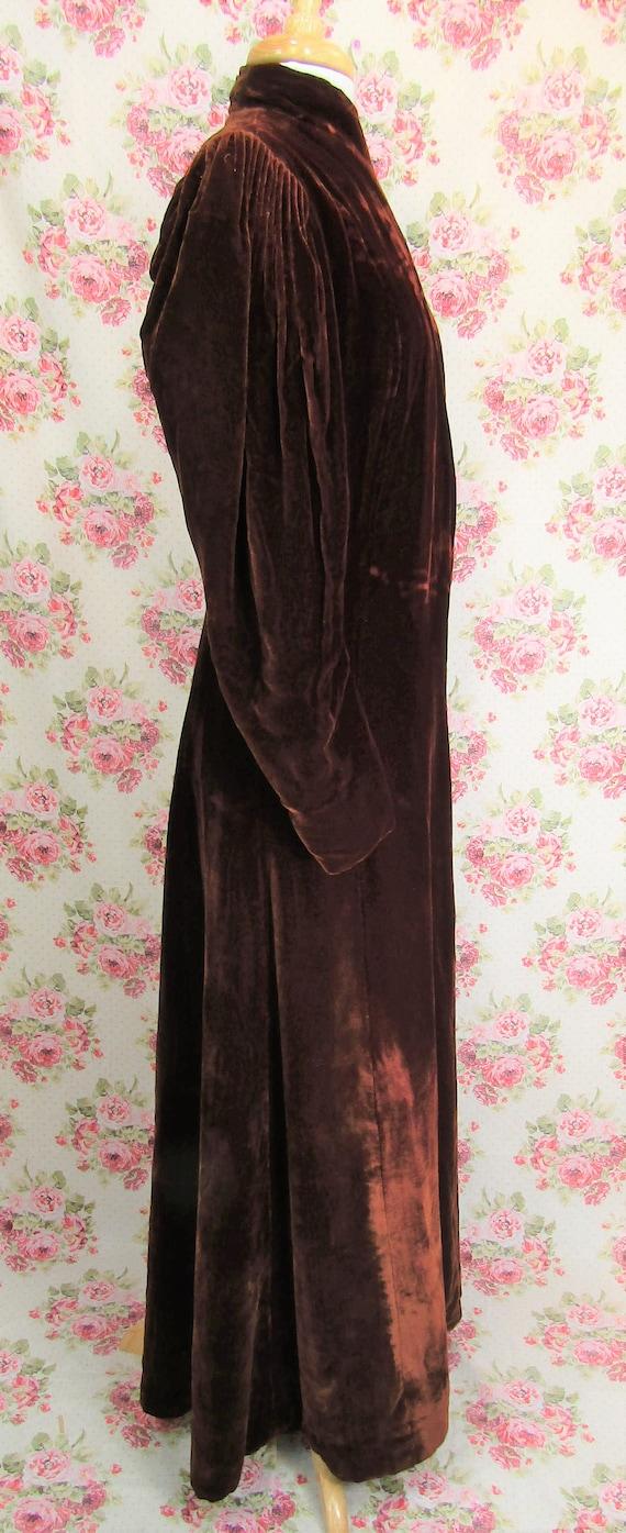 Vintage 1930s 30s Princess Coat Size S Vintage 19… - image 4