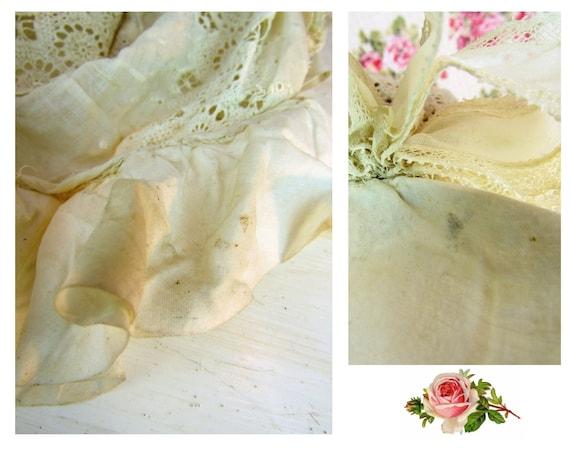 Antique 1800s Victorian Baby Bonnet 6-12 mos Extr… - image 10