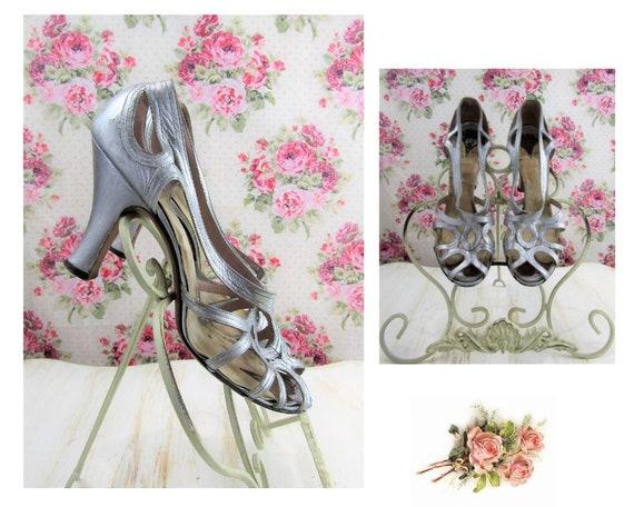 Vintage 30s 1930s Heels Size 8 Vintage 30s Dance S