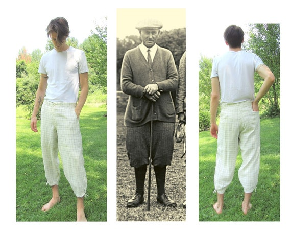 Men's Vintage Golf Knickers Size 38 Vintage 1920's