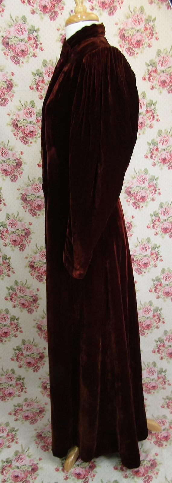 Vintage 1930s 30s Princess Coat Size S Vintage 19… - image 7