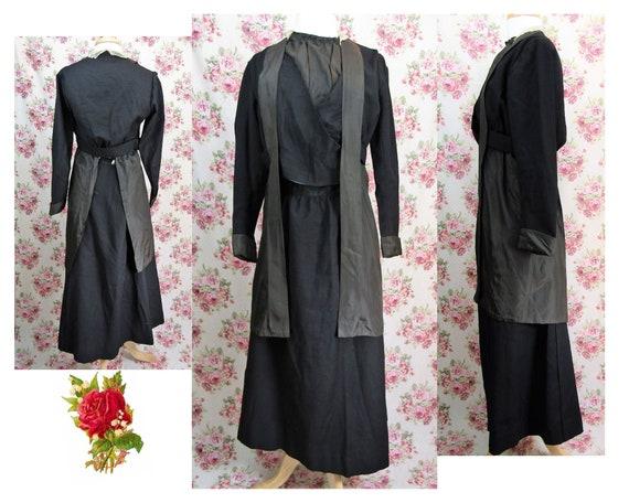 Antique Edwardian Dress Size Medium Late Edwardian