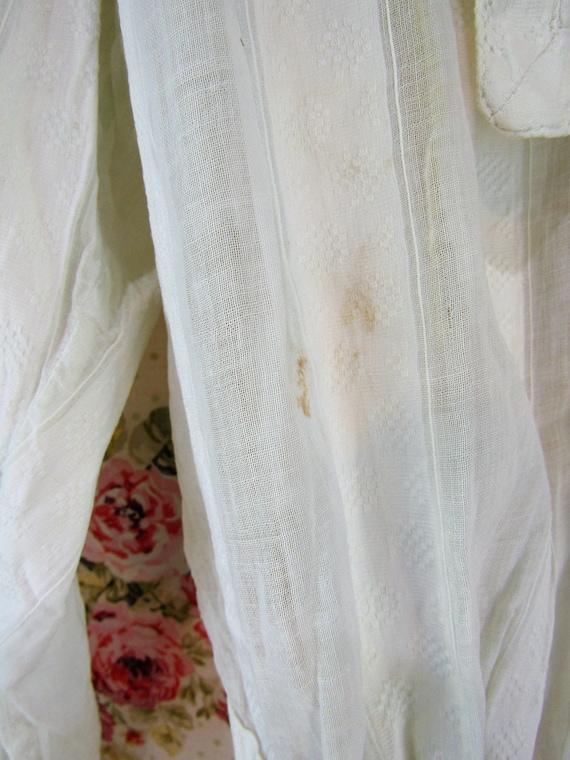 Antique Edwardian Blouse Shirtwaist Size Medium A… - image 9
