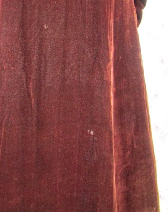 Vintage 1930s 30s Princess Coat Size S Vintage 19… - image 10