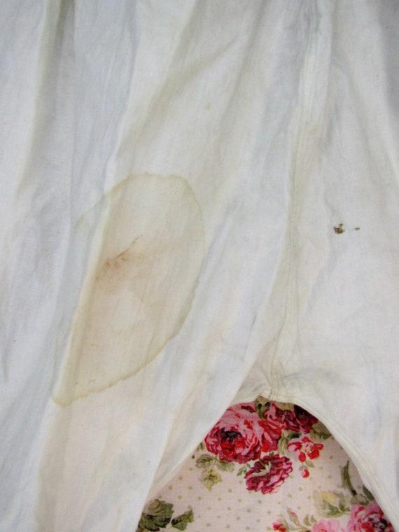 Edwardian Bloomers Size L Antique Bloomers Edward… - image 9