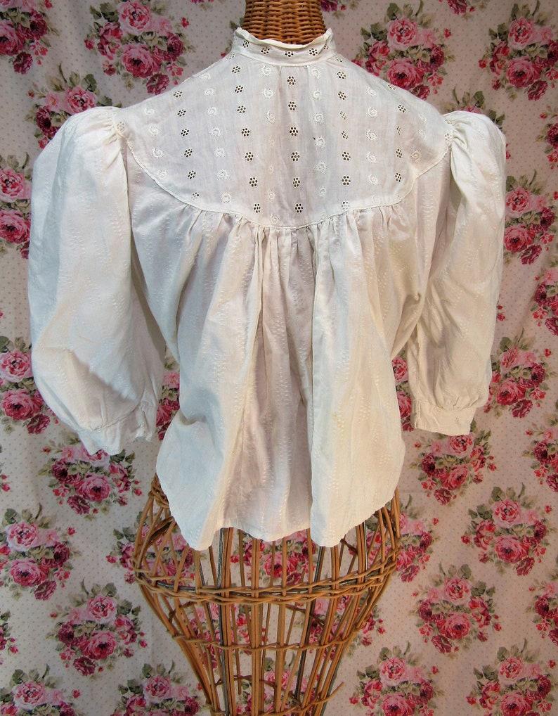 30f3363475f36f Victorian Blouse Edwardian Blouse Antique shirtwaist Vintage
