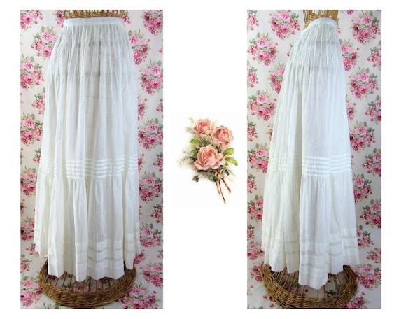 Edwardian Skirt Size XS Edwardian Petticoat Titani