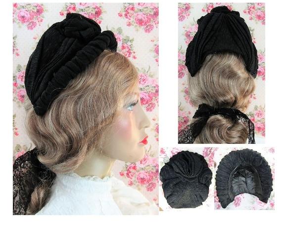 Victorian 1800s Bonnet Antique 1860s Victorian Cre