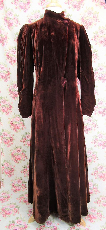 Vintage 1930s 30s Princess Coat Size S Vintage 19… - image 2
