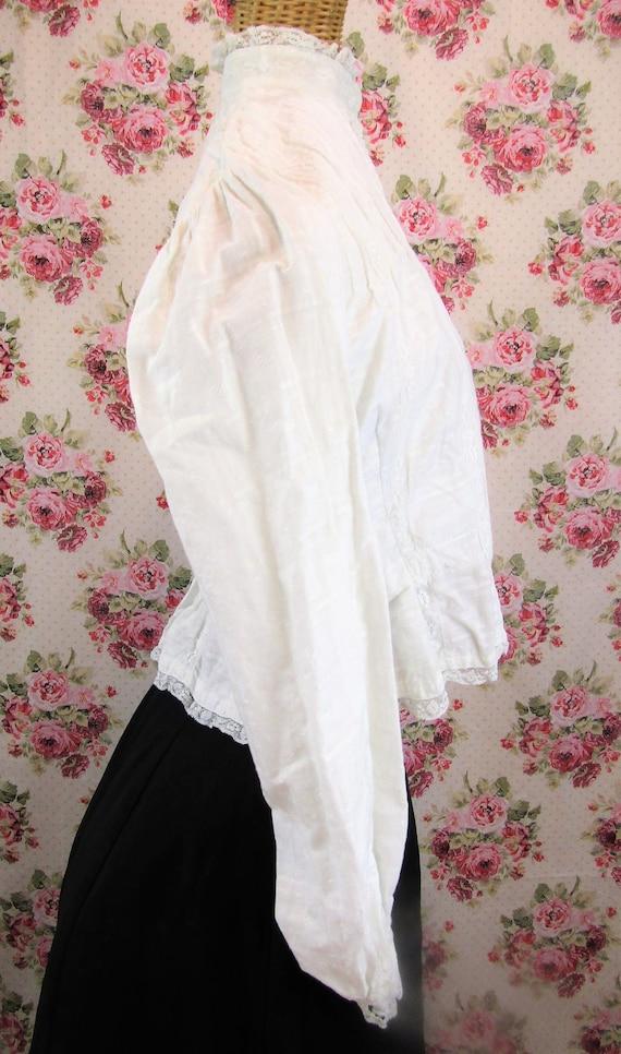 Victorian Blouse Size XS 1800s Victorian Shirtwai… - image 4