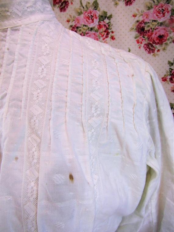 Victorian Blouse Size XS 1800s Victorian Shirtwai… - image 9