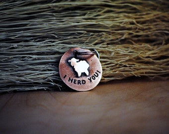 Sheep Tag - Pet Tags - Pet ID Tag - Dog Tag - Dog ID Tag - Custom Dog Tag - Personalized Dog Tag - Cat Tag - Pet Sheep - Sheep Dog - Sheep