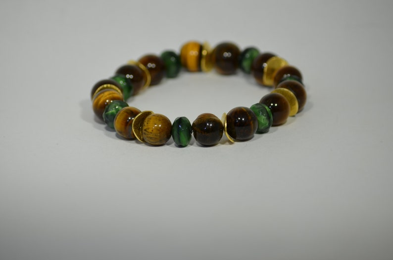 Handmade natural semi precious gemstone  bracelet accessories unique stylish modern jewelry collection special gift for her