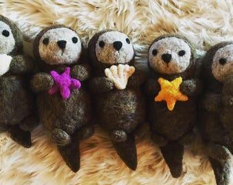 Otter Plush Etsy