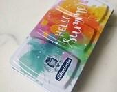 Hello Summer Schmincke Akademie Watercolor Palette ** Summer Limited Edition ** 9 Half Pans