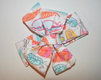 Feather Print Headwrap