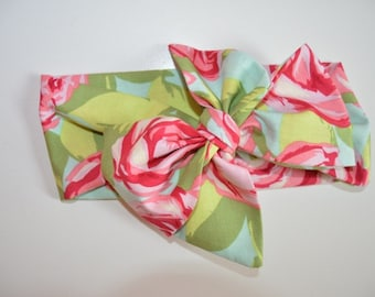 Lilly Rose Print Headwrap