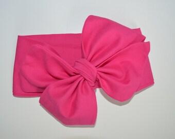 Raspberry Headwrap