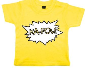 Ka-Pow Comic T-Shirt
