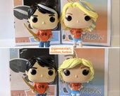 SALE Percy Jackson and Annabeth Chase - Custom Funko Pops - Percy Jackson series - Includes Custom boxes Last ones