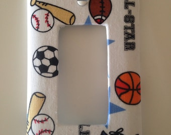 Sports Light Switch Cover