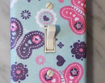 Butterflies LIght Switch Cover