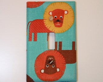 Lions LIght Switch cover
