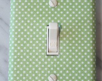 Green LIght Switch Cover