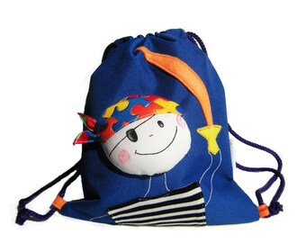 93fea2e47a Pirate Drawstring Backpack